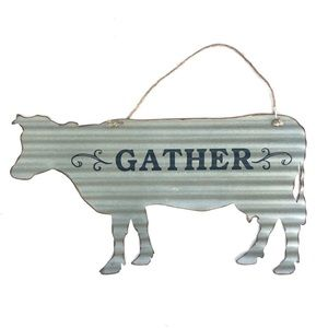 Gather.  Wall Sign.  Young's Inc.